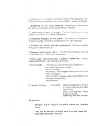 English Worksheets: class strategies