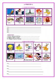 English Worksheets: prefer (2 pages)