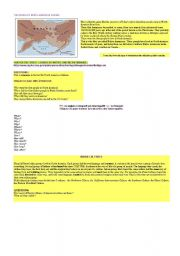 English Worksheet: the north American Indians