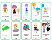 SUBJECT PRONOUNS- GAME