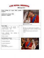 The royal wedding!!