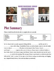 English Worksheets: Around the Bend - Movie worksheet