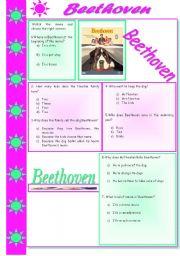 Worksheets Beethoven Lives Upstairs Worksheet english teaching worksheets beethoven beethoven
