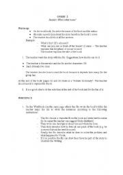 English Worksheets: Activity for readers
