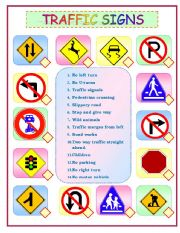 Printables Safety Signs Worksheets english teaching worksheets traffic signs signs