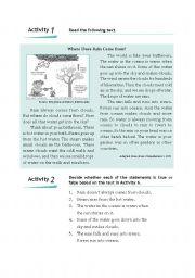 English Worksheets: Explanation Text exercise.
