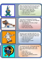 English Worksheets: easy mini comprehensions