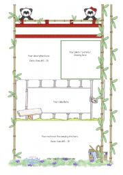 English worksheet: Camp Granada Project- 2nd part