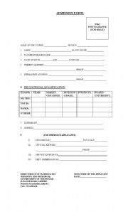 English Worksheets: formation