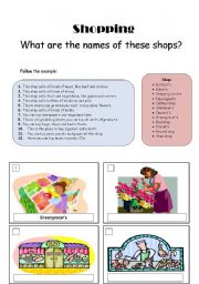 What Are The Names Of These Shops Level Elementary Age 10 14 Downloads 18