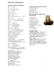 English worksheet: Skater Boy
