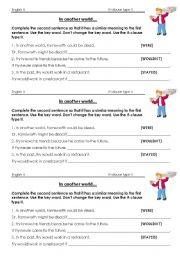 English Worksheet: if clause type II worksheet Futurama what-if machine conditional