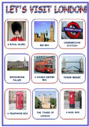 LET´S VISIT  LONDON! (3 pages)