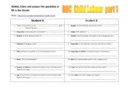 English Worksheet: BBC News  Child Labour (Video + Comprehension questions + KEY