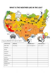 Handy image intended for weather map worksheets printable