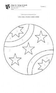 crystal ball coloring pages - photo#41
