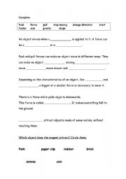Worksheets Types Of Forces Worksheet types of forces worksheet force and motion worksheets have fun teaching