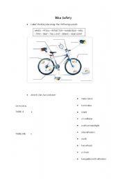 Bike Safety Printable, Health, Safety and Citizenship skills ...