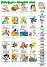 English Worksheet: Past Simple - irregular verbs