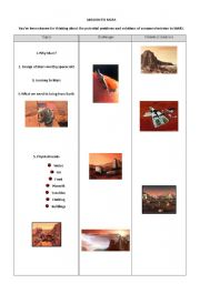 English Worksheets: Mission to Mars