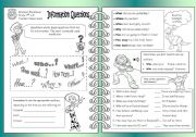 English Worksheets: INFORMATION QUESTIONS