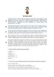 English Worksheets: El Chavo del 8