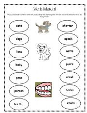 Pics Photos - Simple Verb Worksheet For Ks2 Children Choose The Most ...