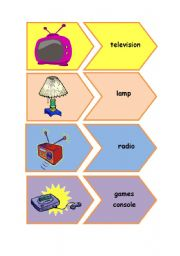 English Worksheet: Electrical appliances flashcards
