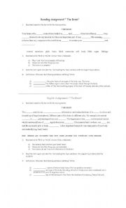 English Worksheets: THE BRAIN