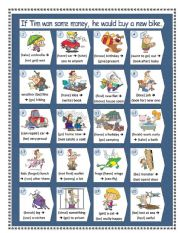 English Worksheets: IF ... Conditional II