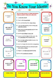 Do you know your idioms?
