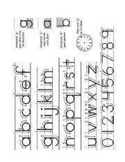 English Worksheets: abc_alphabet_howto