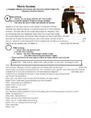 English Worksheets: Movie session: the persuit of happyness