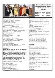 English Worksheets: Don�t Lie - Black Eyed Peas