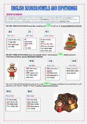 Printables Diphthong Worksheets english teaching worksheets diphthongs sounds vowels and diphthongs