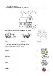 English Worksheets: The Goat 2