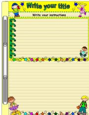 English Worksheets: simple template