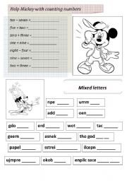 English Worksheets: Revision worksheet part 2