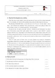 intermediate esl worksheets my favourite sport. Black Bedroom Furniture Sets. Home Design Ideas