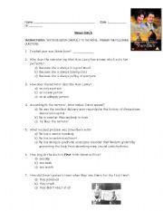English Worksheets: SIMON BIRCH the movie