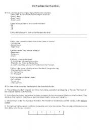 English Worksheets: US Presidential Elections