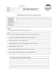 English Worksheets: That Was Then, This Is Now WS Ch 3 & 4