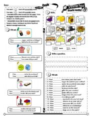 English Worksheet: Grammar Focus Series_19 Much & Many (Fully Editable + Key)