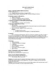 English Worksheet: Time Words