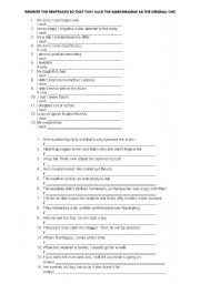 English Worksheet: Conditionals Type 3 and wish clauses quiz