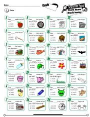 English Worksheet: Grammar Focus Series_21 Much More Much & Many (Fully Editable)