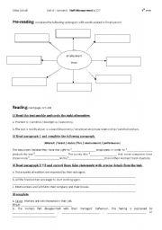 English Worksheets: Unit 4 Lesson 8 Staff Management (Bac)