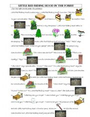 English Worksheet: Little Red Riding Hood - vocabulary