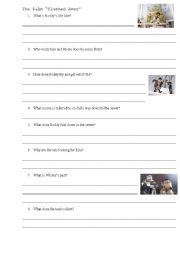 English Worksheets: The Film