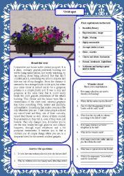 English Worksheets: Vivid spot